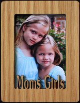 MOM'S GIRLS ~ Portrait 2x3 Wallet Photo/Picture Magnet for your Refrigerator