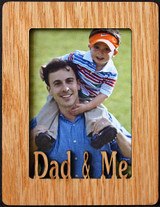 DAD & ME ~ Portrait 2x3 Wallet Photo/Picture Magnet for your Refrigerator! Gift for DAD