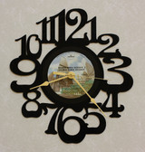 BACHMAN TURNER OVERDRIVE II ~ Wall Clock made from the Vinyl Record