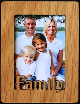 FAMILY ~ Portrait 2x3 Wallet Photo/Picture Magnet for your Refrigerator! Great Gift for any FAMILY!