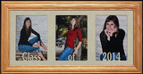 7x15 CLASS OF 2020 (or ANY YEAR) Graduate/Graduation Frame ~ Holds Three - 4x6/5x7 Photos