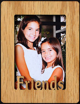 FRIENDS ~ Portrait 2x3 Wallet Photo/Picture Magnet for your Refrigerator! Great Gift for a FRIEND!