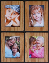 FOUR 3x4 Individual ~ 2x3 Wallet Photo/Picture Magnets! Proudly display your Childrens or Grandchildrens Photos!