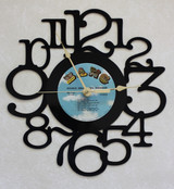 Neil Diamond Double Gold Side 2 ~ LP RECORD WALL CLOCK made from the Vinyl Record Album S-1