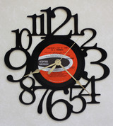 B.J. Thomas - Everybody's Out Of Town ~ LP RECORD WALL CLOCK made from the Vinyl Record Album S-4