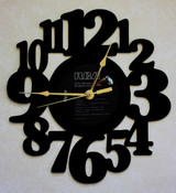 John Denver - Greatest Hits ~ LP RECORD WALL CLOCK made from the Vinyl Record Album S-7