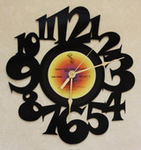Steely Dan - Greatest Hits Side Three ~ LP RECORD WALL CLOCK made from the Vinyl Record Album S-15