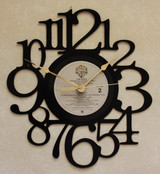 The B-52's ~ LP RECORD WALL CLOCK made from the Vinyl Record Album S-15
