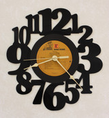 Arlo Guthrie - Amigo ~ LP RECORD WALL CLOCK made from the Vinyl Record Album S-16
