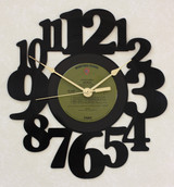 America - Home Coming ~ LP RECORD WALL CLOCK made from the Vinyl Record Album S-16
