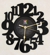 B.B. King - The Best of B.B. King ~ LP RECORD WALL CLOCK made from the Vinyl Record Album S-16