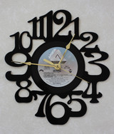 AIR SUPPLY - Lost In Love ~ LP RECORD WALL CLOCK made from the Vinyl Record Album S-17