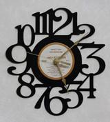 Olivia Newton John - Totally Hot ~ LP RECORD WALL CLOCK made from the Vinyl Record Album S-18