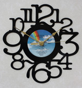 Olivia Newton John - Greatest Hits ~ LP RECORD WALL CLOCK made from the Vinyl Record Album S-18