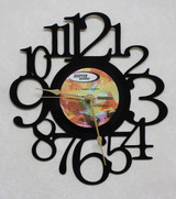 B.J. Thomas Country ~ LP RECORD WALL CLOCK made from the Vinyl Record Album S-6