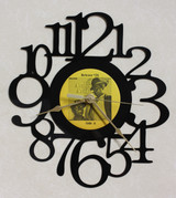 Amos n' Andy Release #26 Side A ~ LP RECORD WALL CLOCK made from the Vinyl Record Album S-3