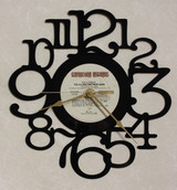 Allman Brothers Eat a Peach Side 2  ~ LP RECORD WALL CLOCK made from the Vinyl Record Album S-8