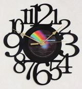 ELTON JOHN - Goodbye Yellow Brick Road Record 1 Side 1 LP RECORD WALL CLOCK made from the Vinyl Record Album S-13
