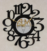 FALCO - Rock Me Amadeus LP RECORD WALL CLOCK made from the Vinyl Record Album S-18