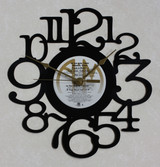 Atlantic Star - As The Band Turns - LP RECORD WALL CLOCK made from the Vinyl Record Album S-16