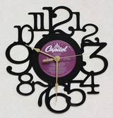 APRIL WINE - Power Play - LP RECORD WALL CLOCK made from the Vinyl Record Album S-16