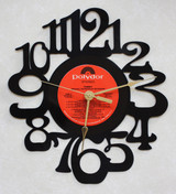 TOMMY - Original Soundtrack Side 2 LP RECORD WALL CLOCK made from the Vinyl Record Album S-14