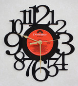 TOMMY - Original Soundtrack Side 3 LP RECORD WALL CLOCK made from the Vinyl Record Album S-14