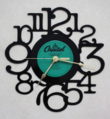 The Beach Boys - Surfer Girl LP RECORD WALL CLOCK made from the Vinyl Record Album S-11