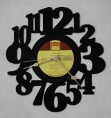 Smokey Robinson - Love Breeze LP RECORD WALL CLOCK made from the Vinyl Record Album S-11