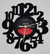 SIMPLY RED - Picture Book LP RECORD WALL CLOCK made from the Vinyl Record Album S-13