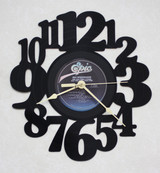 REO Speedwagon - You Can Tune a Piano, But You Can't Tuna Fish LP RECORD WALL CLOCK made from the Vinyl Record Album S-13