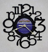 Commodores - Natural High LP RECORD WALL CLOCK made from the Vinyl Record Album S-13