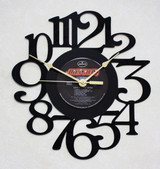 SCORPIONS - Love At First Sting LP RECORD WALL CLOCK made from the Vinyl Record Album S-13