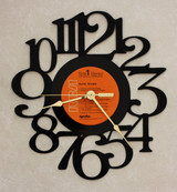 Guitar Boogie - Eric Clapton Jeff Beck Jimmy Page LP RECORD WALL CLOCK made from the Vinyl Record Album S-7