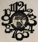 Daryl Hall & John Oates - Private Eyes LP RECORD WALL CLOCK made from the Vinyl Record Album S-9