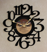 Donna Summer - Greatest Hits On The Radio Side 1 LP RECORD WALL CLOCK made from the Vinyl Record Album S-9