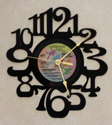 Starship - Knee Deep In The Hoopla LP RECORD WALL CLOCK made from the Vinyl Record Album S-11