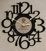 DIRE STRAITS - LP RECORD WALL CLOCK made from the Vinyl Record Album S-11