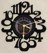 STYX - Paradise Theater - LP RECORD WALL CLOCK made from the Vinyl Record Album S-11