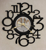Peter Frampton - Where I Should Be - LP RECORD WALL CLOCK made from the Vinyl Record Album S-12