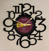 Rick James - Throwin' Down - LP RECORD WALL CLOCK made from the Vinyl Record Album S-14