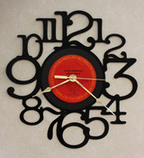 Elvis Costello - Armed Forces - LP RECORD WALL CLOCK made from the Vinyl Record Album S-14