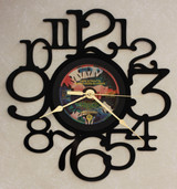 Dire Straits - Brothers In Arms - LP RECORD WALL CLOCK made from the Vinyl Record Album S-13
