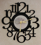 PRINCE and the Revolution - Parade - LP RECORD WALL CLOCK made from the Vinyl Record Album S-13