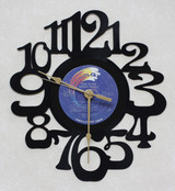 The Moody Blues - Record 2 Side 4  - LP RECORD WALL CLOCK made from the Vinyl Record Album S-5
