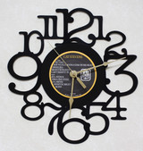 Cat Stevens - Catch Bull At Four - LP RECORD WALL CLOCK made from the Vinyl Record Album S-10