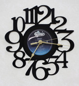EUROPE - The Final Countdown - LP RECORD WALL CLOCK made from the Vinyl Record Album S-8