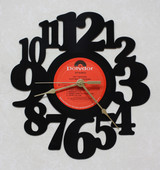 Pat Travers - Putting It Straight - LP RECORD WALL CLOCK made from the Vinyl Record Album S-7