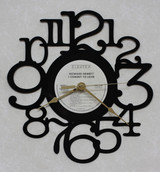 Howard Hewett - I Commit To Love - LP RECORD WALL CLOCK made from the Vinyl Record Album S-6
