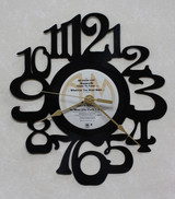 Nazareth - No Mean City - LP RECORD WALL CLOCK made from the Vinyl Record Album S-6